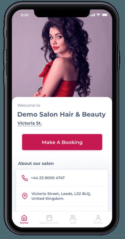 Salon Branded Apps - Prototype UK