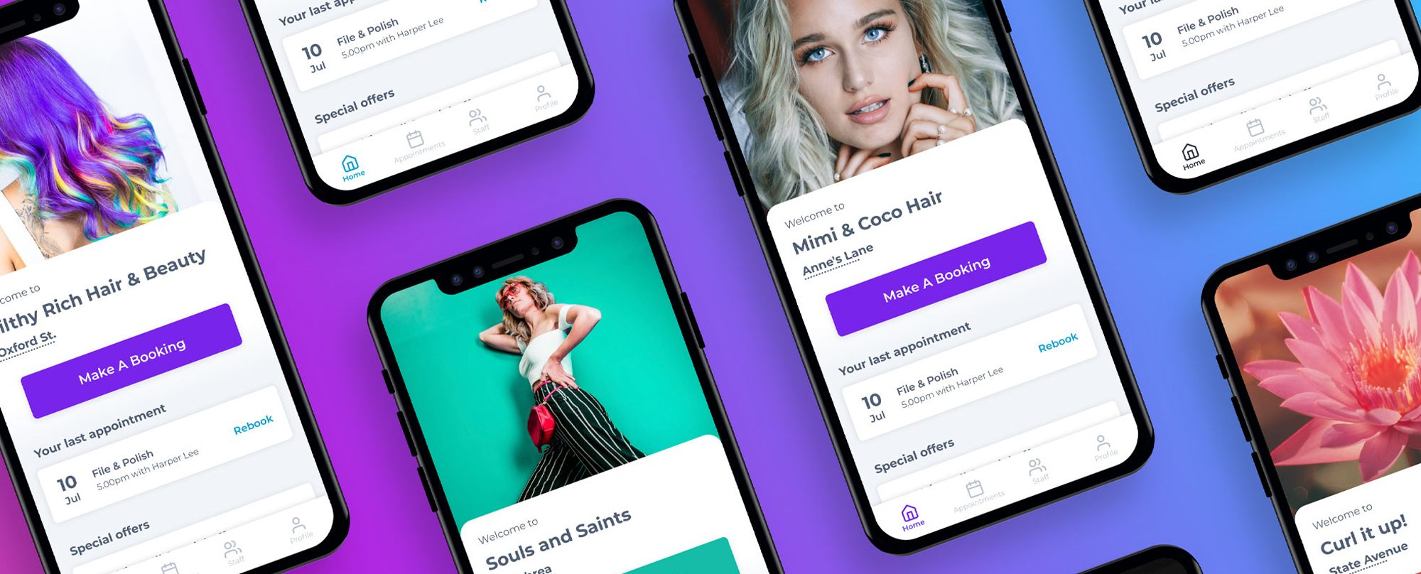Deliver A Custom Branded Experience With The New Salon Branded Apps