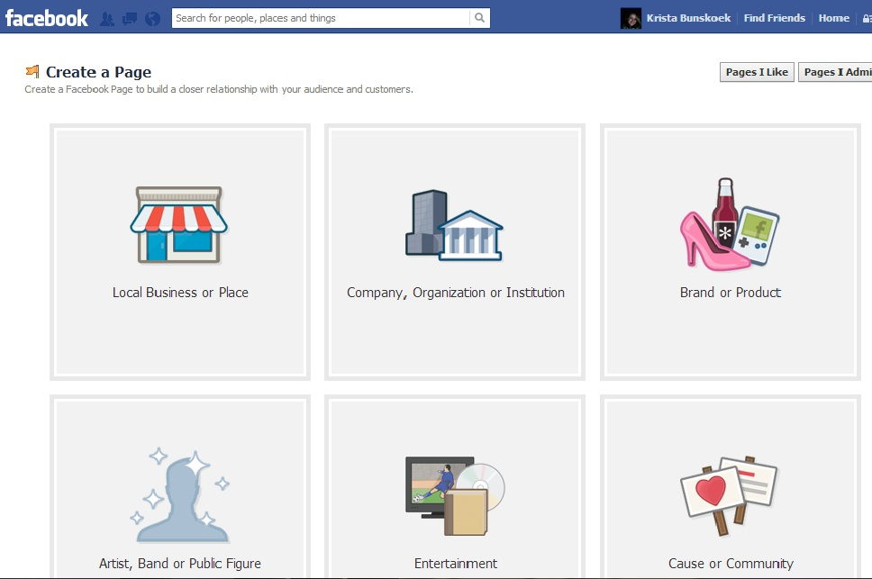How to Switch a Facebook Friends Page over to a Likes Page