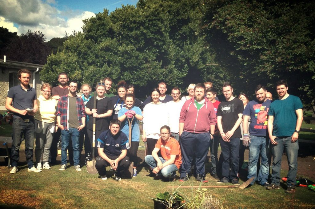 The Phorest Team Finish Two Day Charity Garden Project