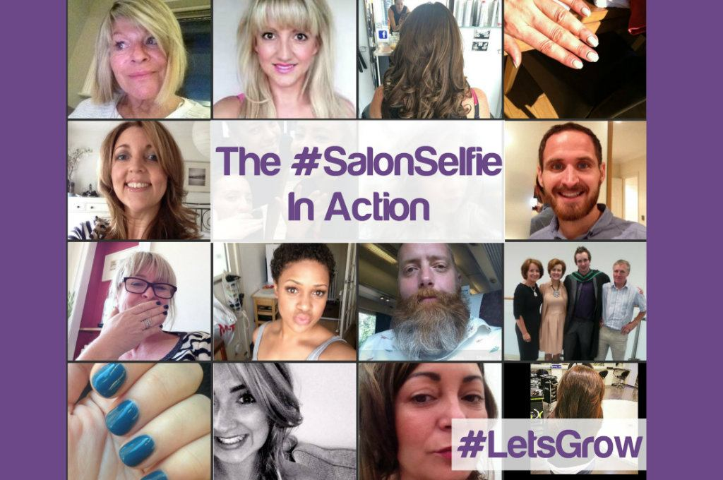See The #SalonSelfie In Action In Our Brand New Slide Show