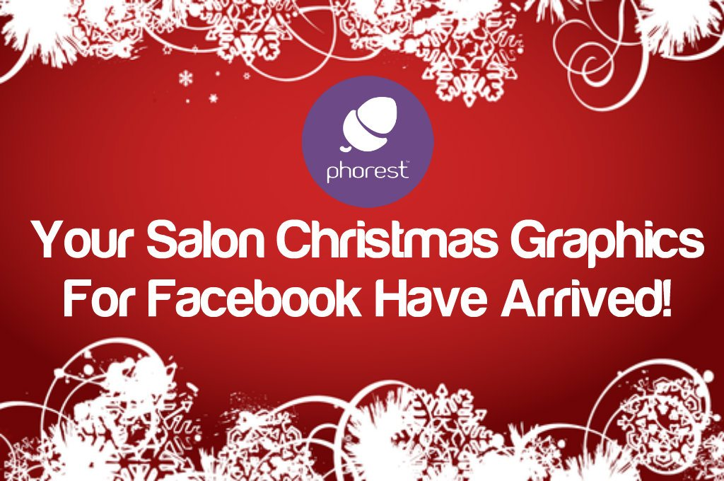 FREE Salon Christmas Graphics For Your Facebook Page (or Twitter account)