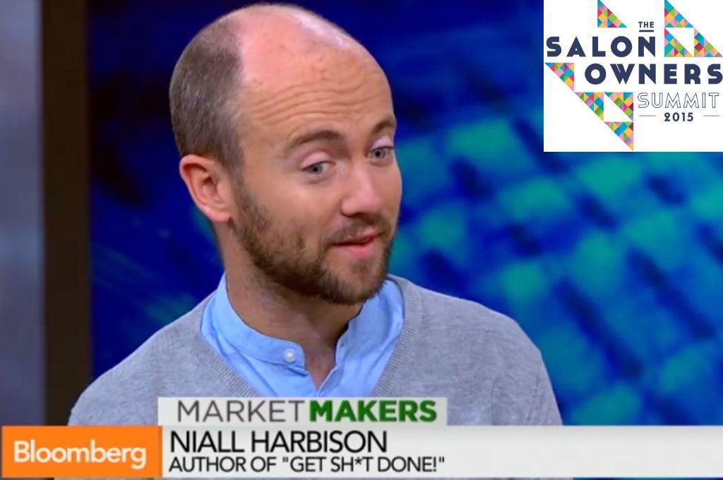 VIDEO – Salon Summit Speaker Spotlight: Niall Harbison