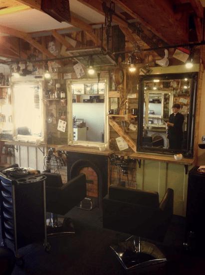 Salon-Upcycling