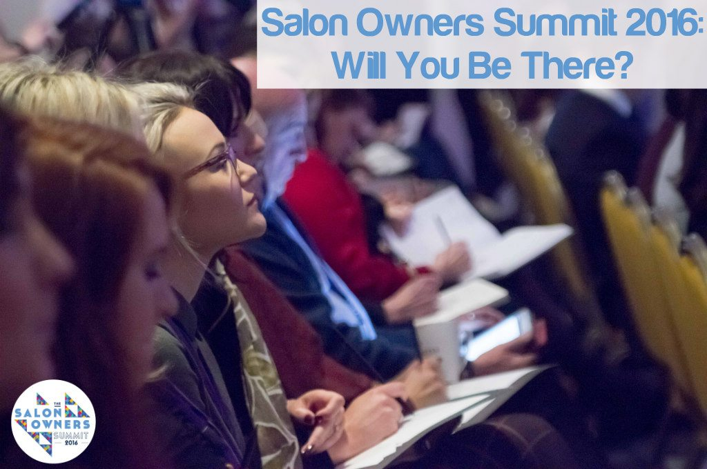 It's happening: There is Going to be a Salon Owners Summit 2016