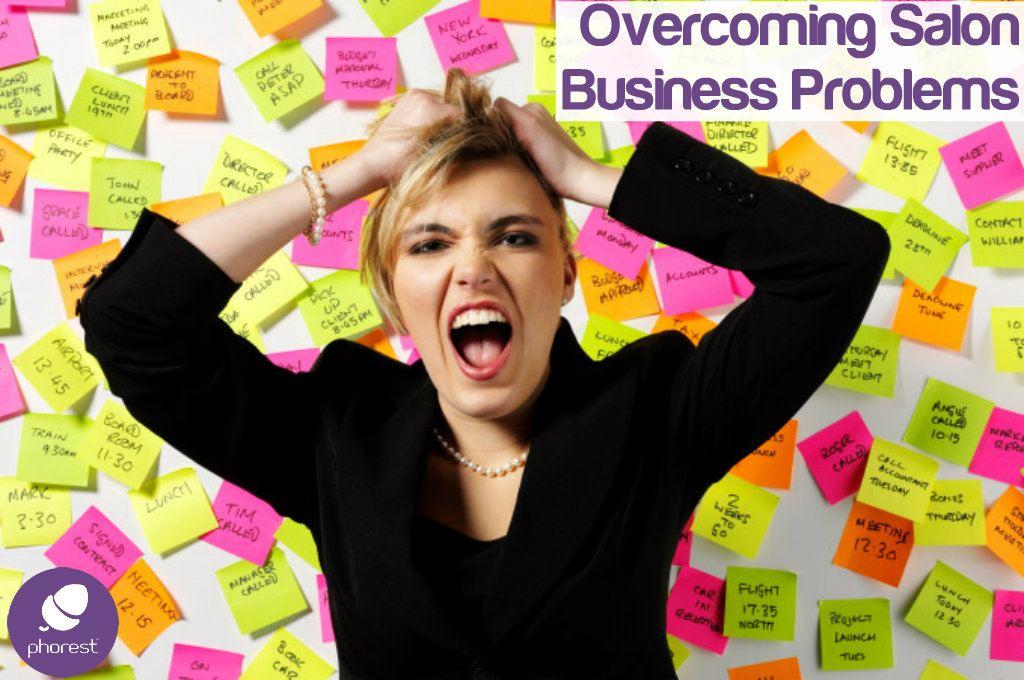 Don't Let Business Problems Overwhelm Your Salon's Success – Simon Lotinga GUEST POST