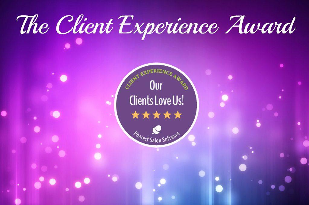 Award Winning Salons: We've Got an Update on the Client Experience Award