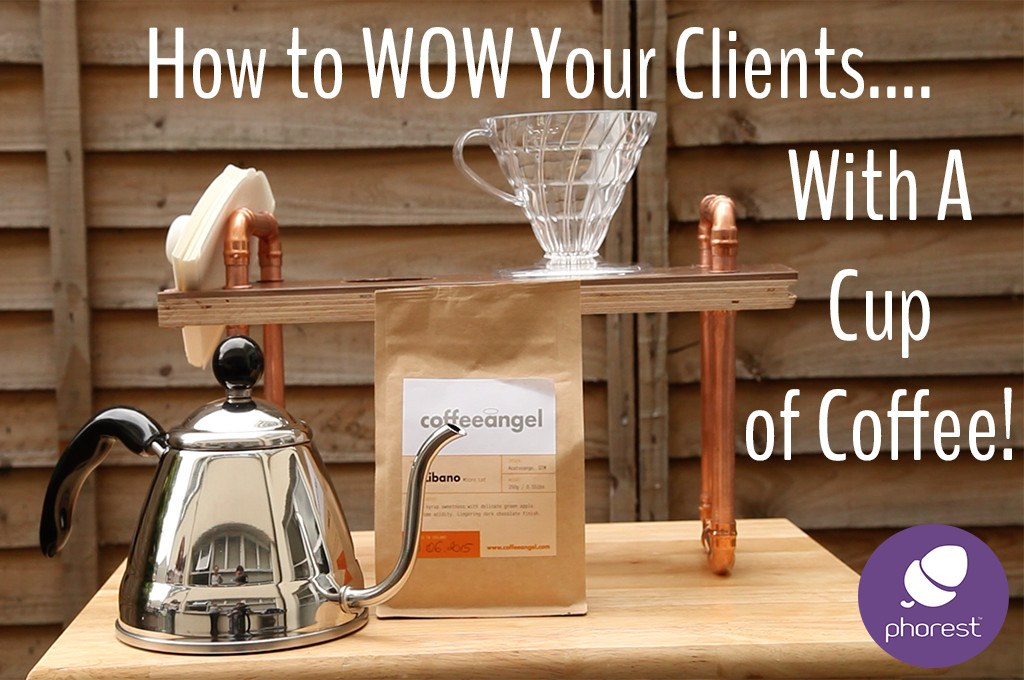 How to Create a WOW Experience in Your Salon… But First, Coffee