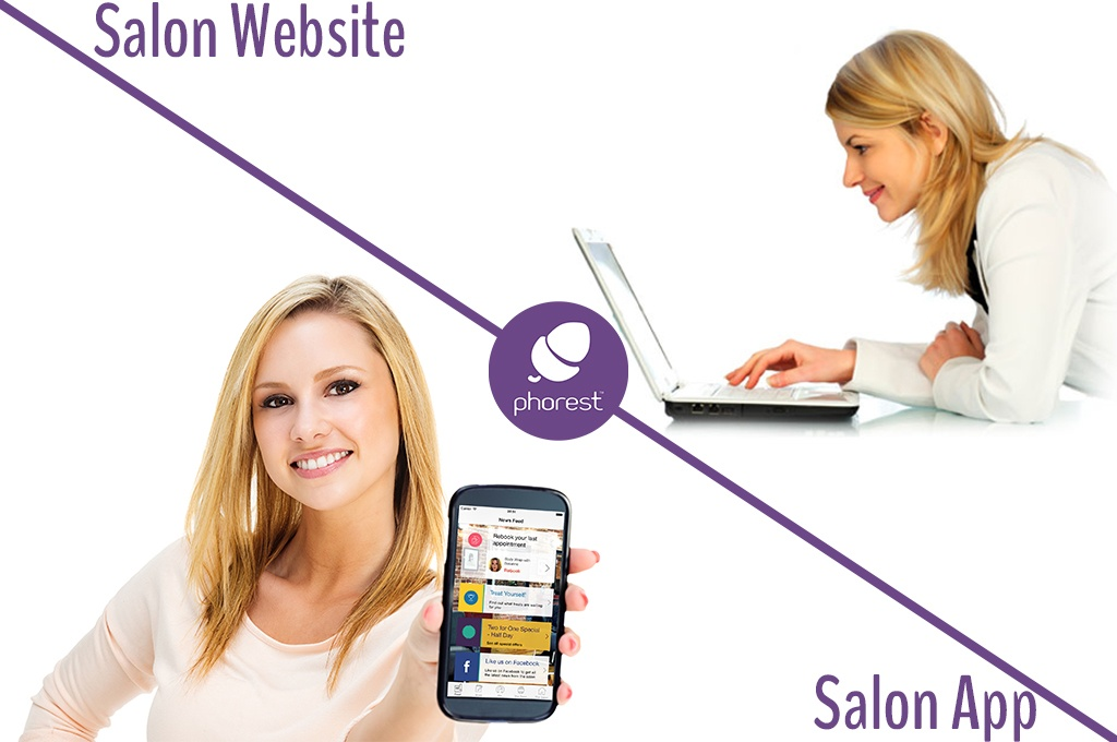 The Difference Between A Salon App & A Salon Website?
