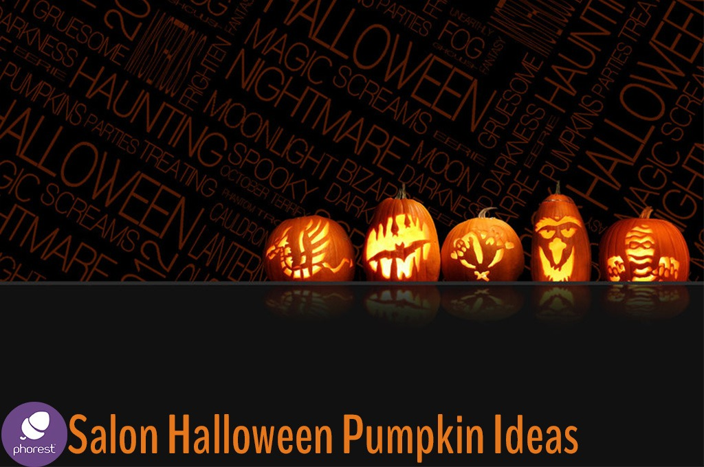 Stunning Salon Halloween Pumpkin Carving Ideas