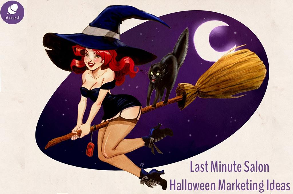 Trick Or TreatCard – Your Last Minute Halloween Salon Marketing Kit