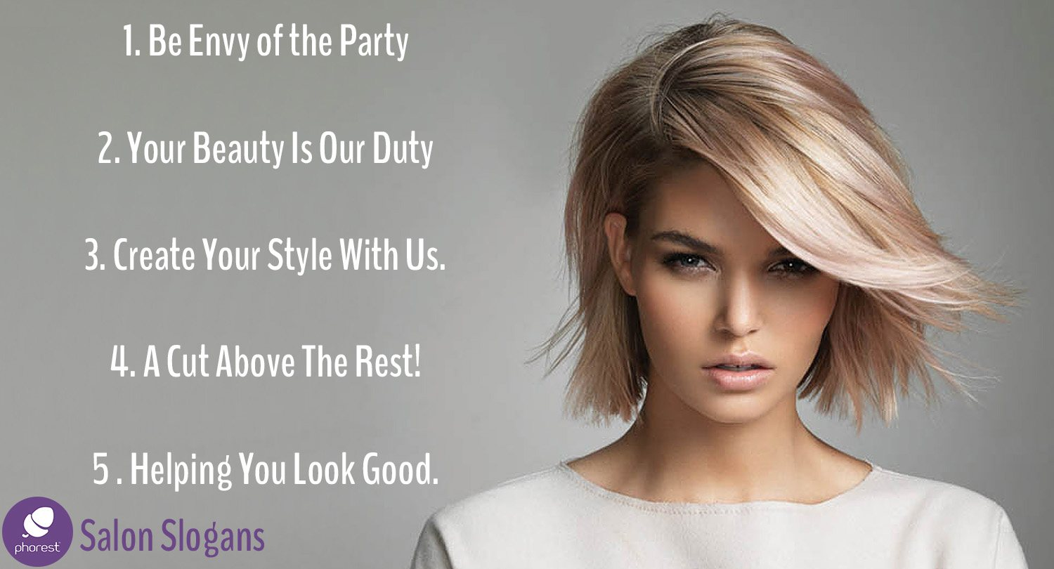 You Will Love These Salon Slogan Ideas - Phorest Blog