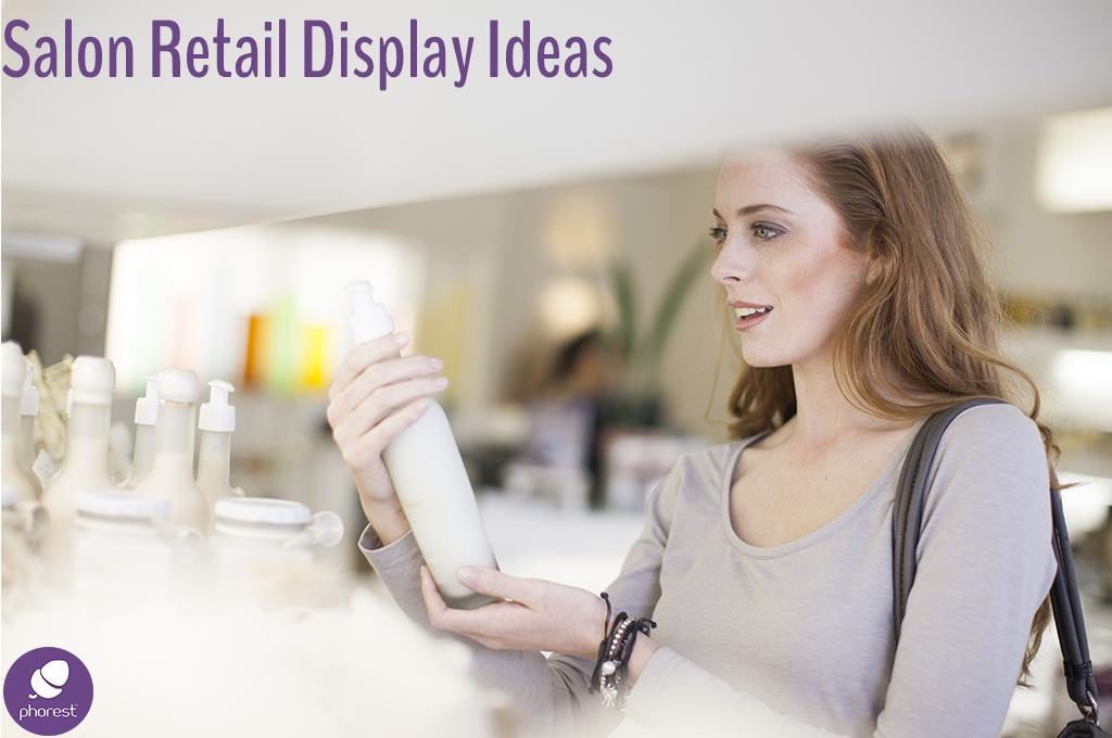 Simply Fabulous Salon Retail Display Ideas