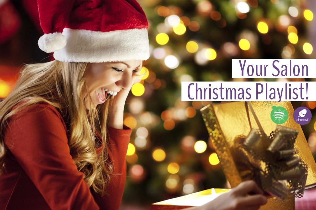 Just In Time! Your Salon Christmas Playlist Has Arrived