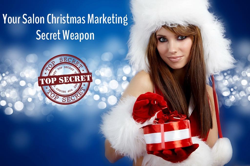 Your Salon Christmas Marketing Secret Weapon
