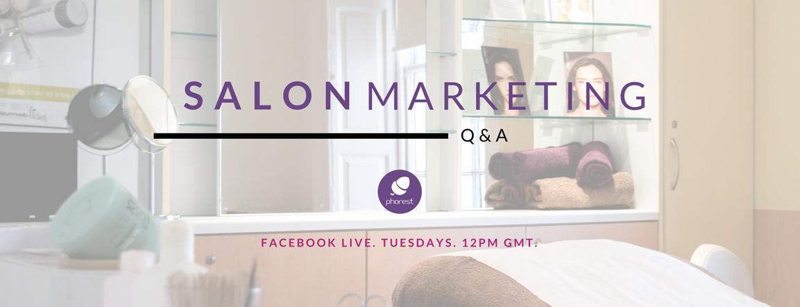 Reaching My Salon Audience On Facebook – The Salon Marketing Q&A #3
