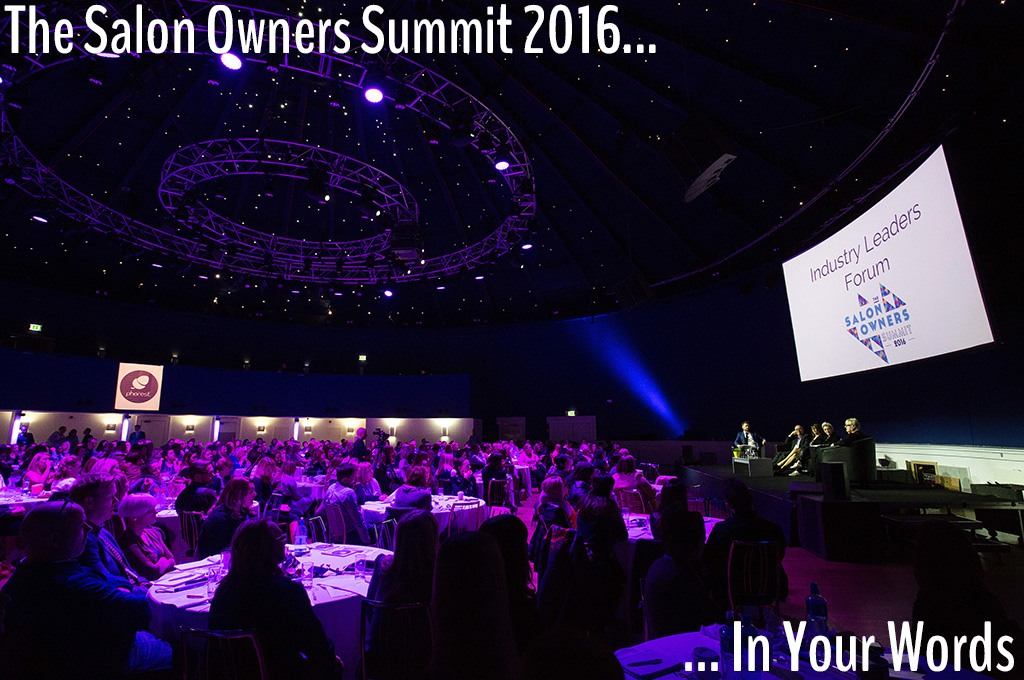 The Salon Owners Summit 2016 – In Your Own Words