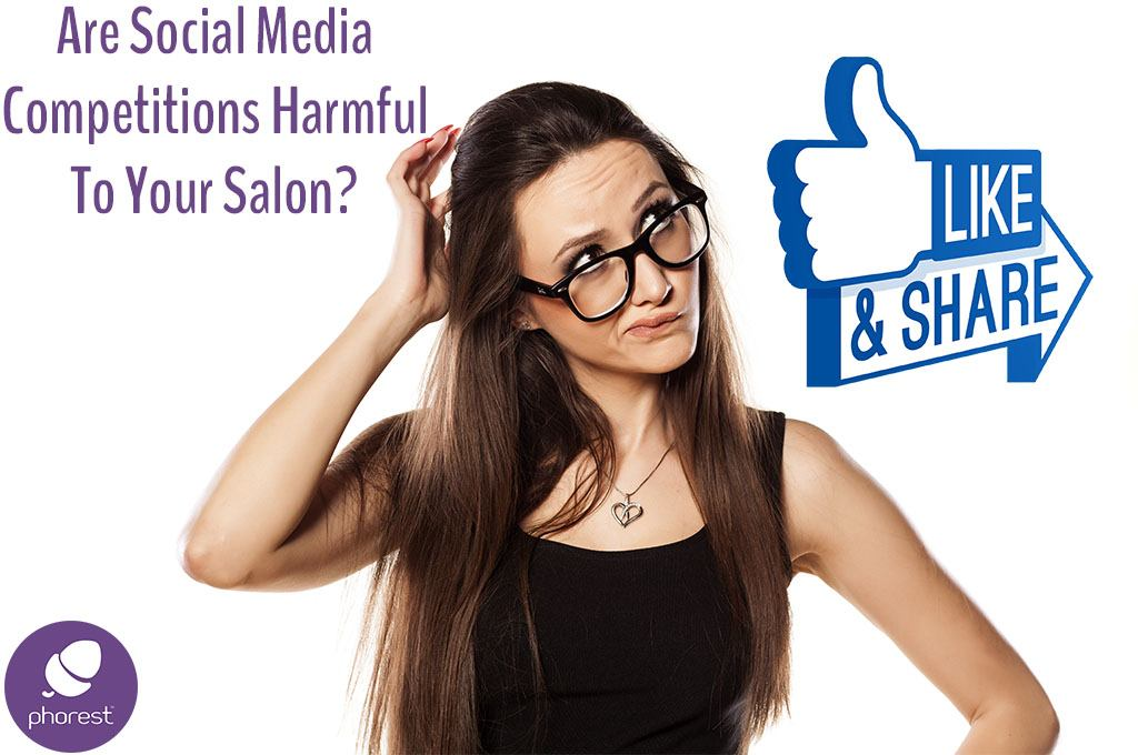 How Damaging Can Your Salon Social Media Competitions Be?
