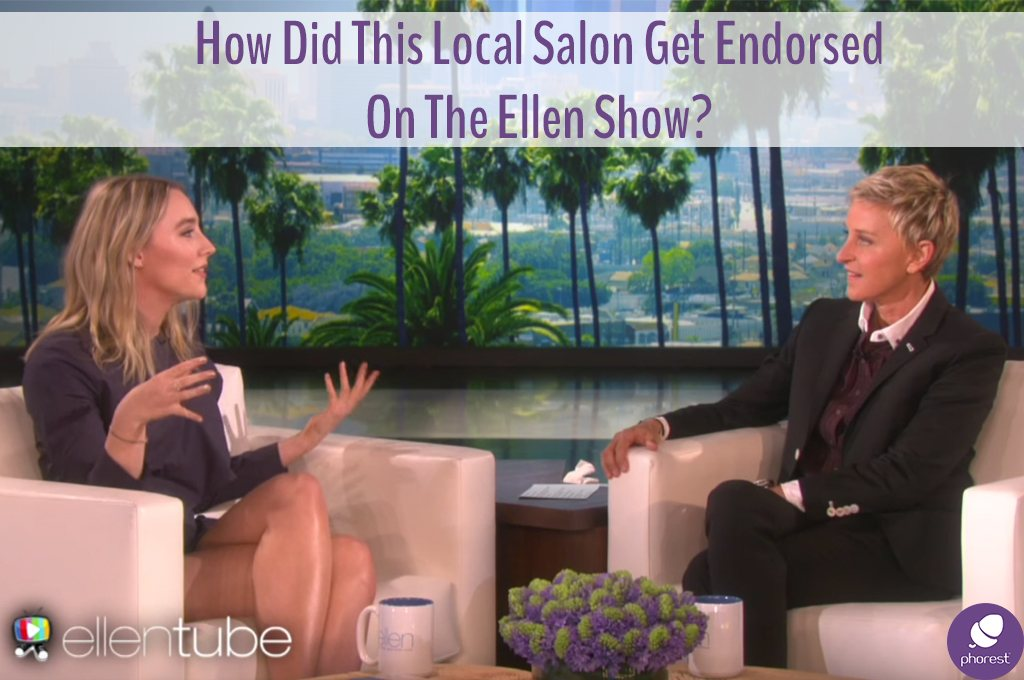 How The Heck Did This Local Salon Get Endorsed On The Ellen Show?