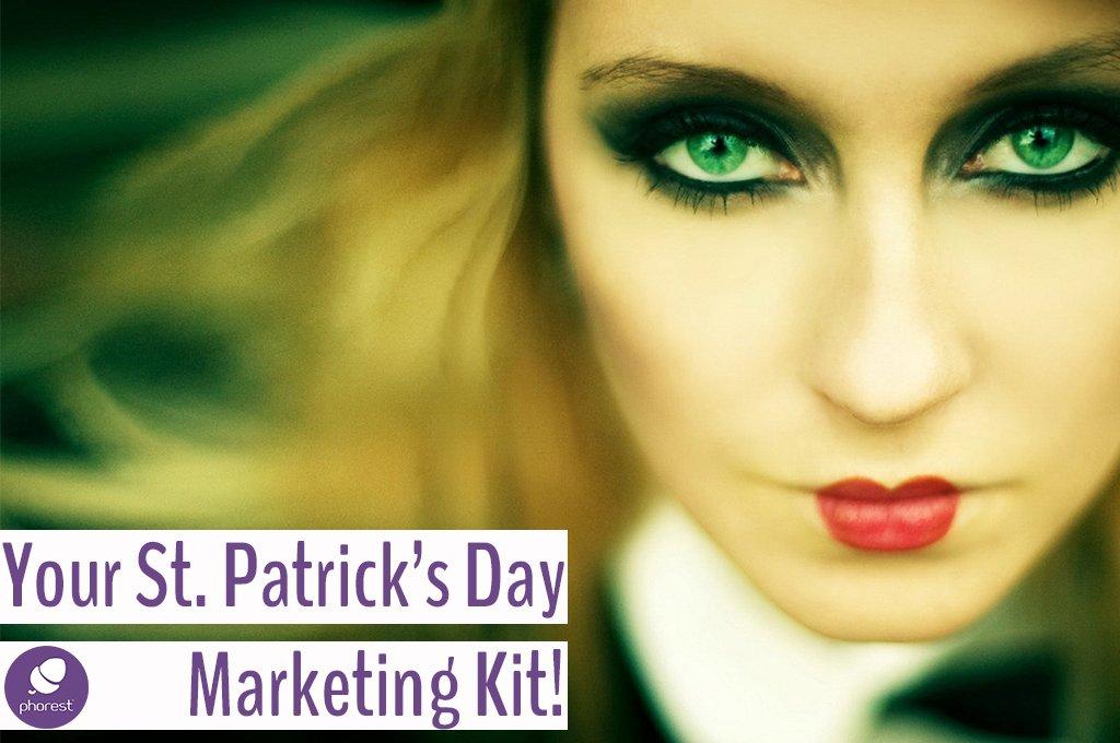 Salon St Patricks Day Marketing Ideas & Treats