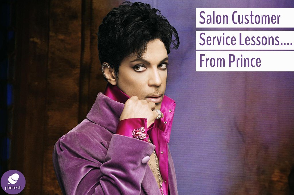 How To React To Your Salon Customer… According To Prince