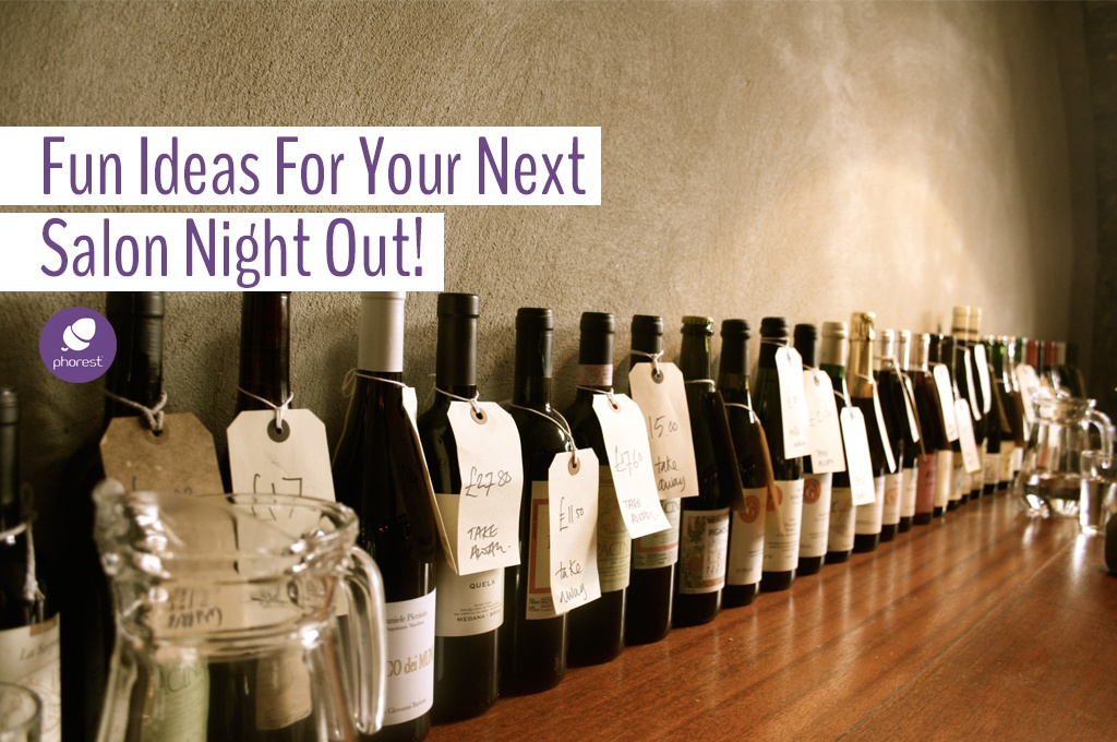 Ideas For A Salon Night Out With Your Team