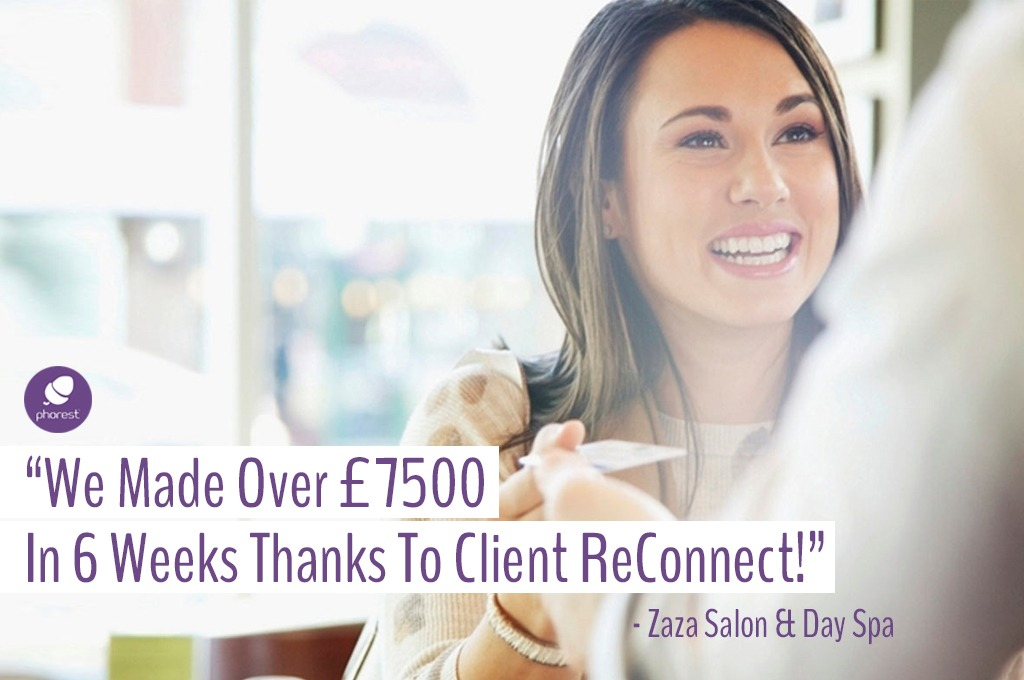 BIG UPDATE on Salon Software Feature Client ReConnect