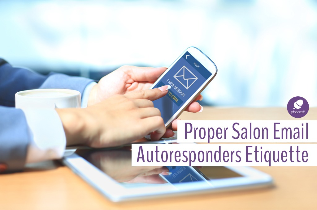 Salon Email Autoresponders: Are You Doing It Wrong?