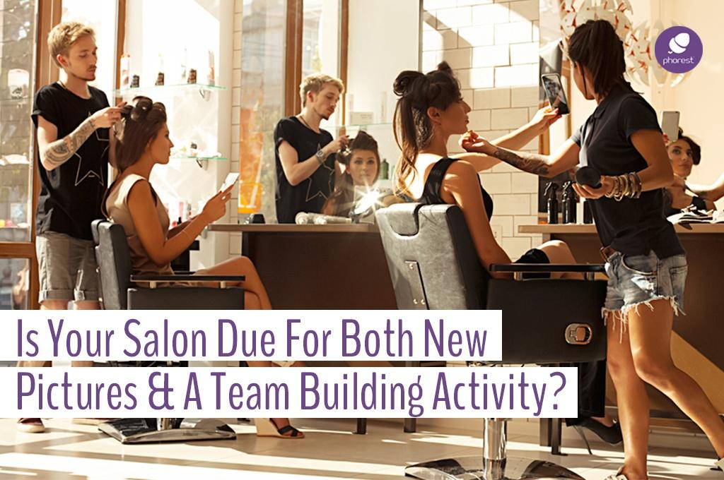 Refresh Your Salon Portfolio With A Creative Team Activity