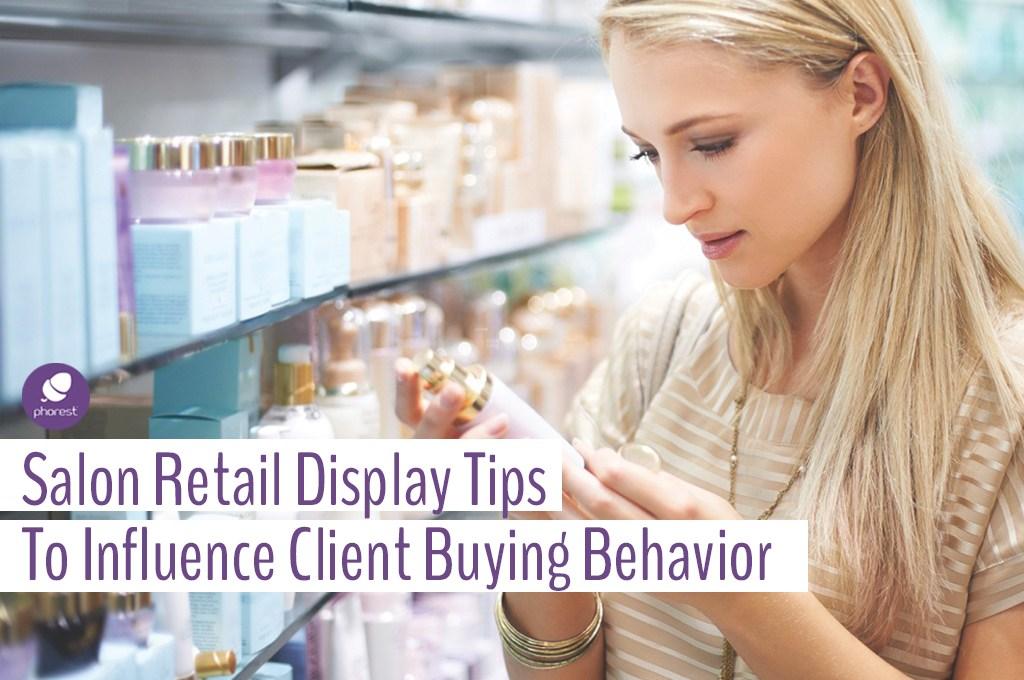 How Retail Display Influences Impulsive Salon Purchases