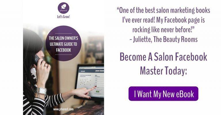 salon facebook messages