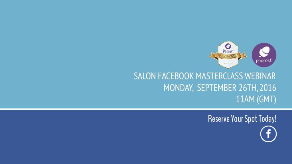 Facebook Masterclass Webinar Cover