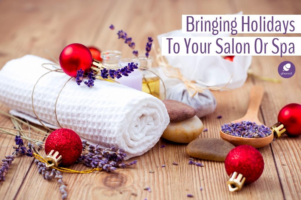 12 Jolly Christmas Salon Decor Ideas To Create Moments Of Magic
