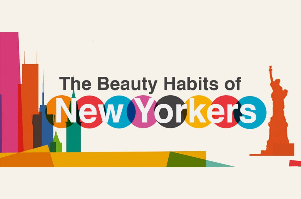 The Beauty Habits of New Yorkers [Infographic]