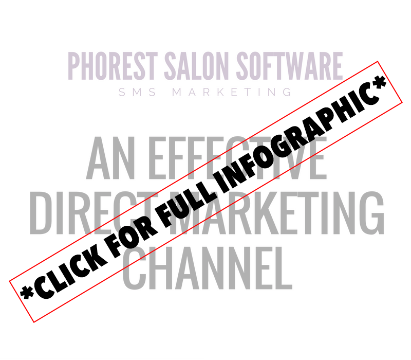 sms salon advertising
