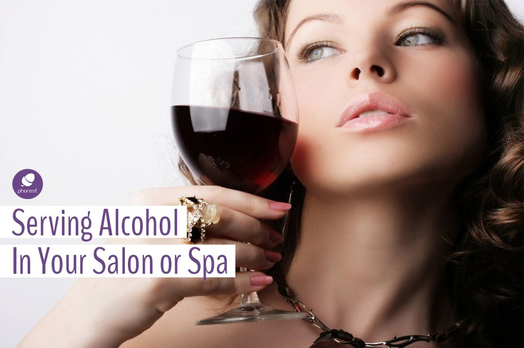 Add Fizz To Your Marketing With A Festive Salon Drinks Menu