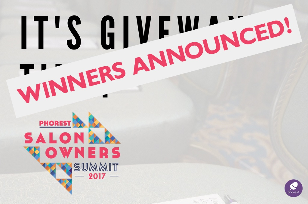 Salon Owners Summit 2017 Giveaway: Win A Goodie Bag