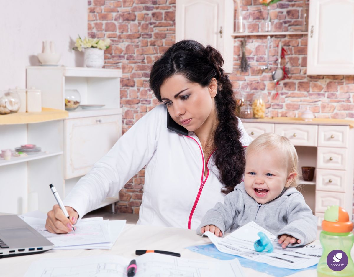 The Working Parent Blues, Or How To Work From Home With A Child