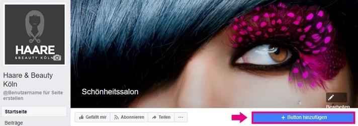 Online-Buchung Facebook