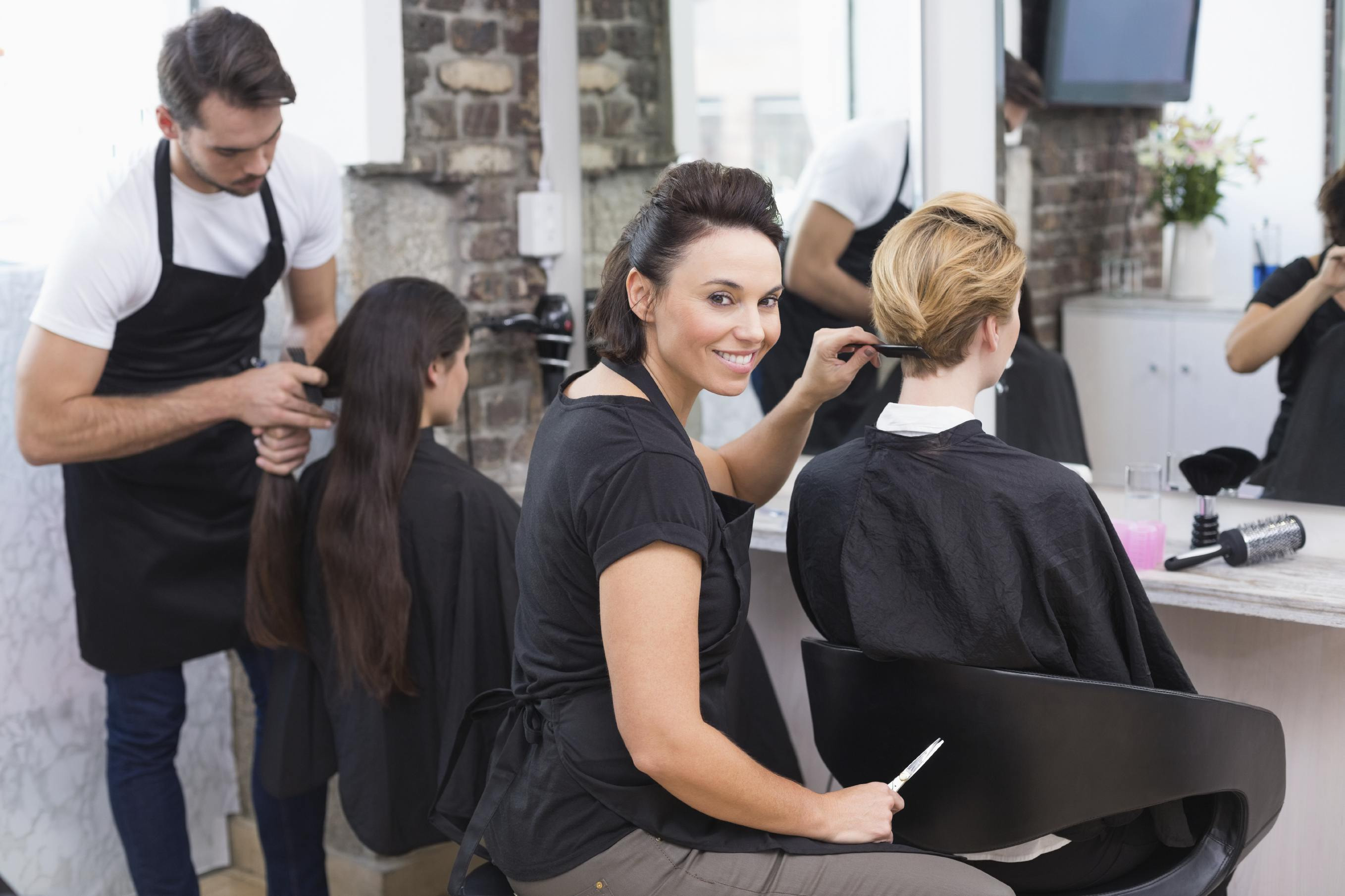 first-time salon manager