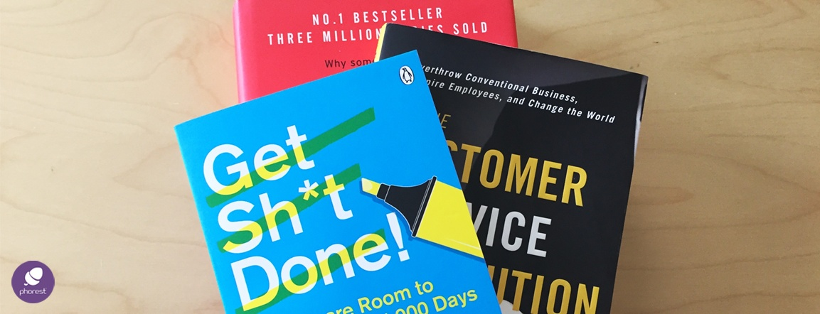 Enter For A Chance To Win A Bundle Of Business Books