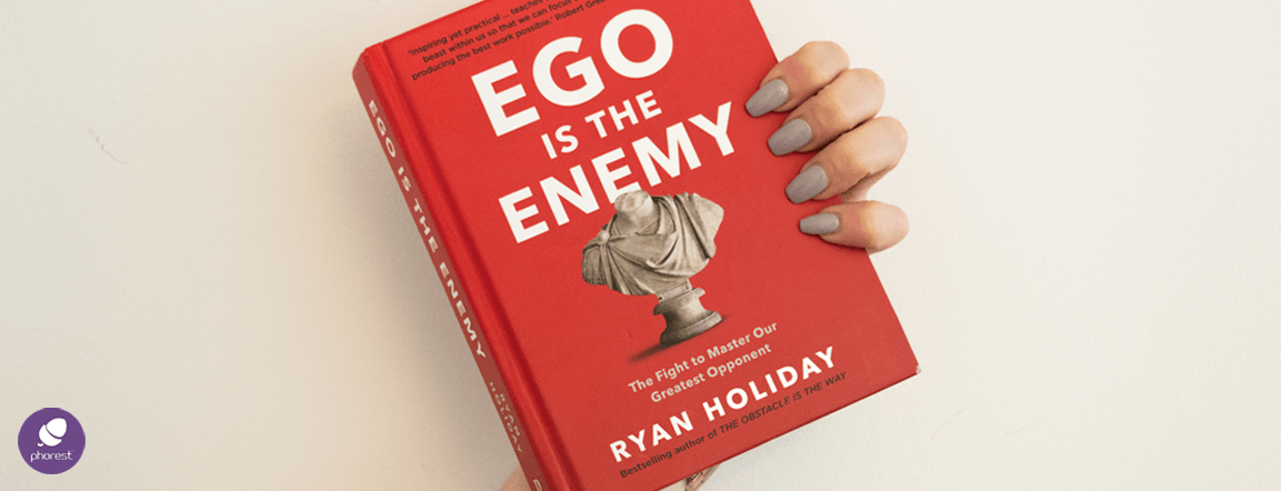 The Phorest Salon Book Club: Ego Is The Enemy by Ryan Holiday