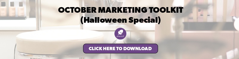halloween salon marketing ideas