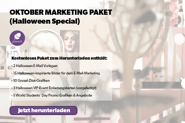 Halloween Salon-Marketing
