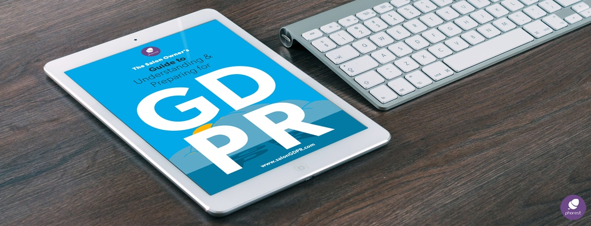Get Your Copy: The Salon Owner's Guide To GDPR eBook