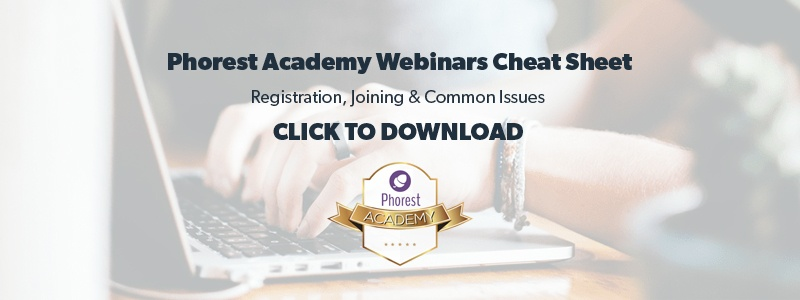 spring phorest academy webinars