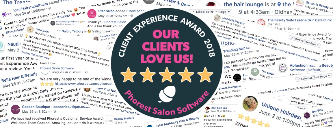 It's Time To Celebrate The Client Experience Award 2018