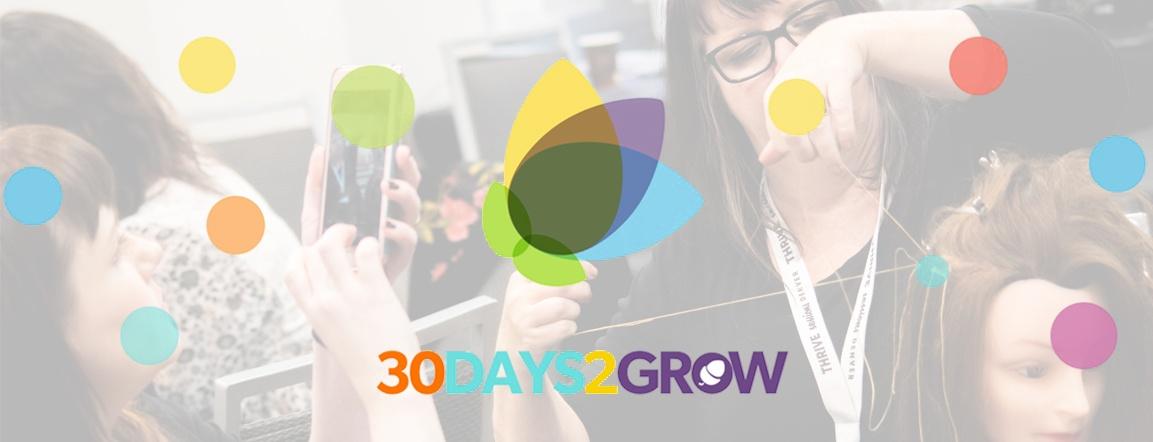 Ready, Set, Join The 2019 #30Days2Grow Salon Challenge