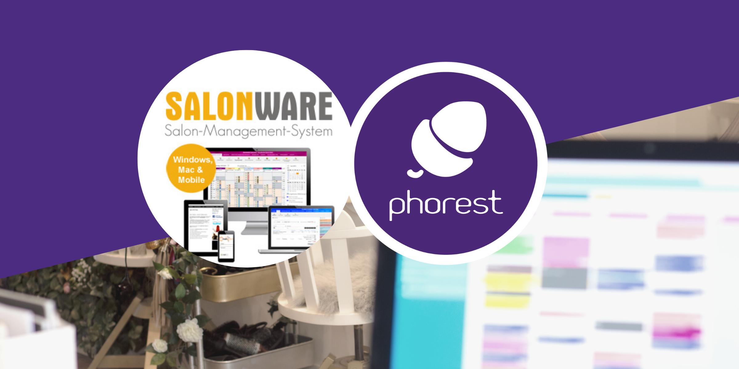 Pressemitteilung: Phorest Salonsoftware, die offizielle Empfehlung von und für SALONWARE Kunden
