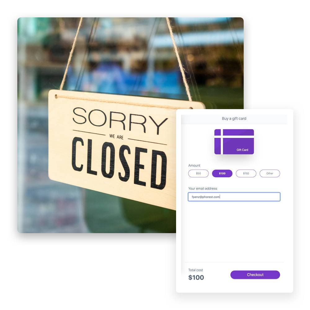 Einfach Online Gutscheine verkaufen, wenn dein Salon geschlossen ist und mit der Gutscheinverwaltung einfach nachverfolgen.